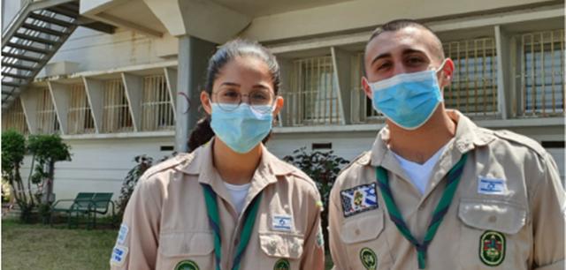 מלאכים בחאקי: הצעירים ששומרים על ילדי הרופאים. פרטי