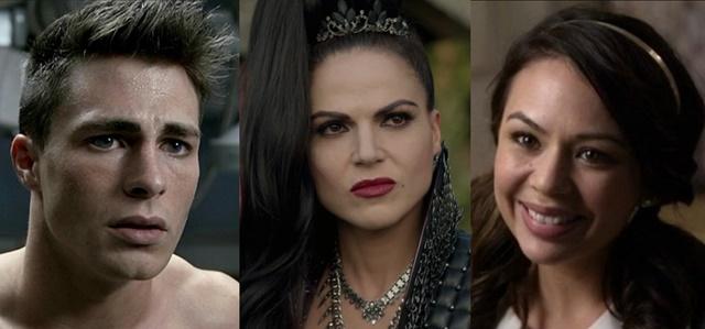 הדמויות שהשתנו מן הקצה אל הקצה. צילומי מסך מהסדרות