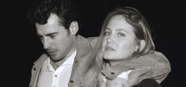 וואו: הזוג לורן פלד ומאיה שואף בקליפ רומנטי במיוחד. צילום מסך מהקליפ