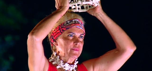 הישרדות: אילנה היא המנצחת הגדולה של הפרק. מתוך הישרדות, רשת 13