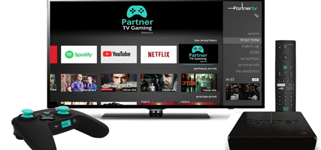 מעל 400 משחקים: פרטנר TV משיקים חבילת גיימינג. באדיבות פרטנר TV