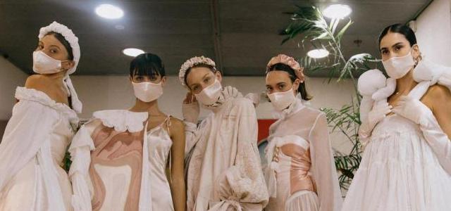 יש עתיד: חמש בוגרות עיצוב אופנה בשנקר על קולקציות הגמר שלהן. צילום: עדי סגל