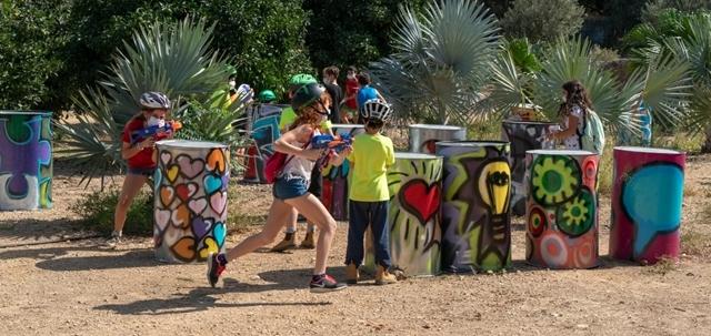הילדים שהקימו פארק שעשועים וזכו בתחרות בינלאומית. רעיה אלטמן