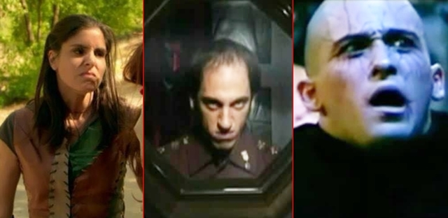 """דרגו: הרעים המפחידים ביותר בסדרות הנוער. צילום מ""""השמיניה"""", """"האי"""", """"גאליס"""""""