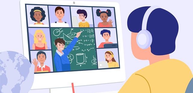 ההוא עם הרקעים: סוגי התלמידים השונים בזום. adobestock