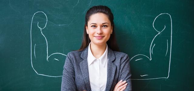 """""""תודה לקורונה שהאירה את הזרקור על אנשי החינוך"""". AdobeStock (אילוסטרציה)"""