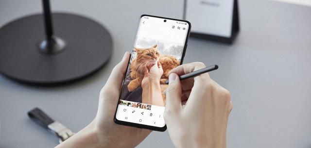 זה מה שחשבנו על ה-Samsung S21 Ultra עם כיסוי ה-S-Pen החדש. יחסי ציבור, באדיבות סמסונג ישראל