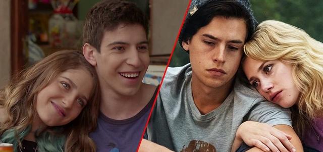 """אהבה מהסדרות: ההורים התחתנו בשנית, הילדים התאהבו. Katie Yu/Netflix, צילום מ""""שכונה"""" (טין ניק)"""