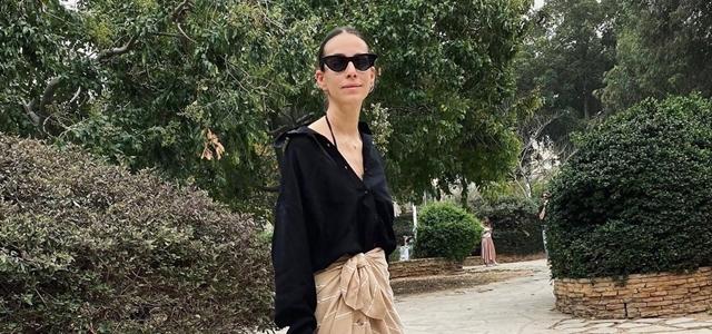 טוטאל פאשניסטה: סטייליסטית, דוגמנית ומעצבנת אופנה . צילום מסך מאינסטגרם