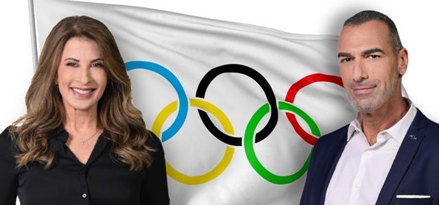 על האולימפוס: מירי נבו ואלי אילדיס מתרגשים לקראת האולימפיאדה. adobestock, יוסי צבקר