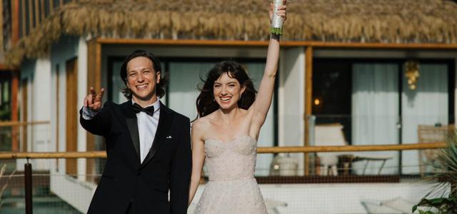 זה קרה! לי בירן ואליאנה תדהר התחתנו. עידן חסון
