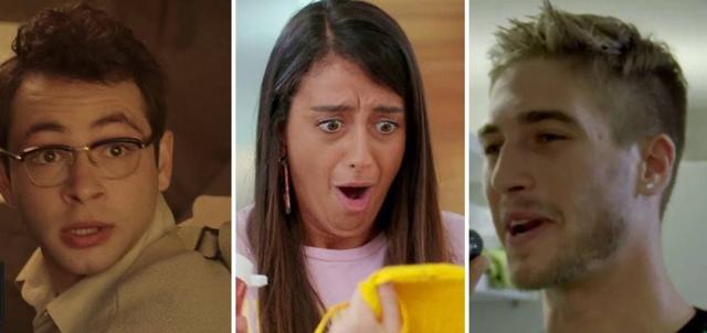 הצביעו: מי הדמות שהכי הצחיקה אתכם בסדרות הנוער?. מתוך כפולה, זיגי ופלמח
