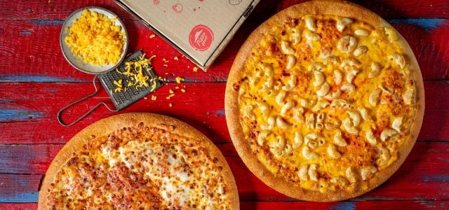 Food Feed: זאת הפיצה הכי מושחתת שאכלנו?. באדיבות יחסי ציבור, פיצה האט